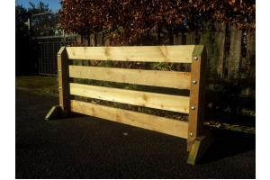 4ft Wide 2ft High Plank Show Jump Filler